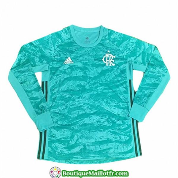 Maillot Flamengo 2019 2020 Vert Manche Longue