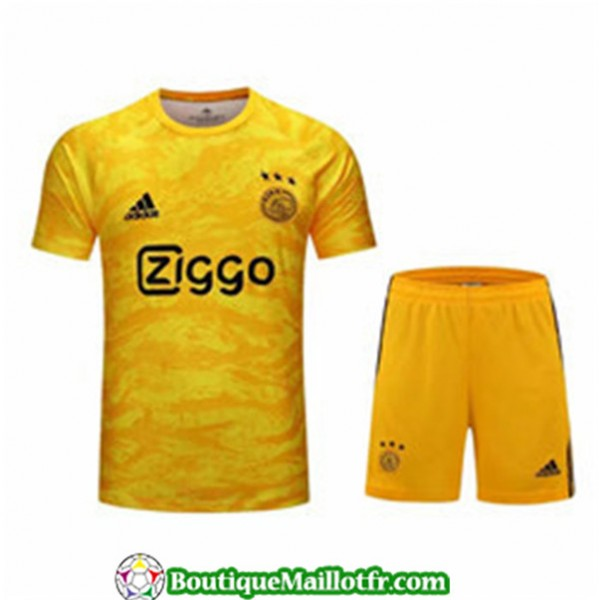 Maillot Gardien De But Ajax 2019 2020 Jaune