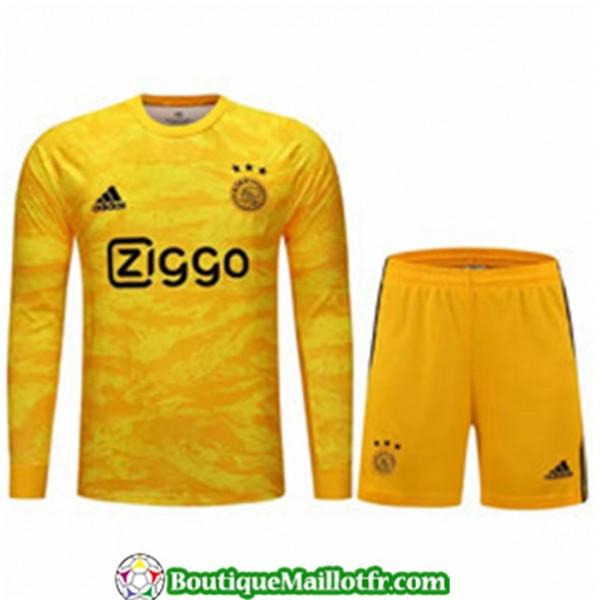 Maillot Gardien De But Ajax 2019 2020 Manche Longu...