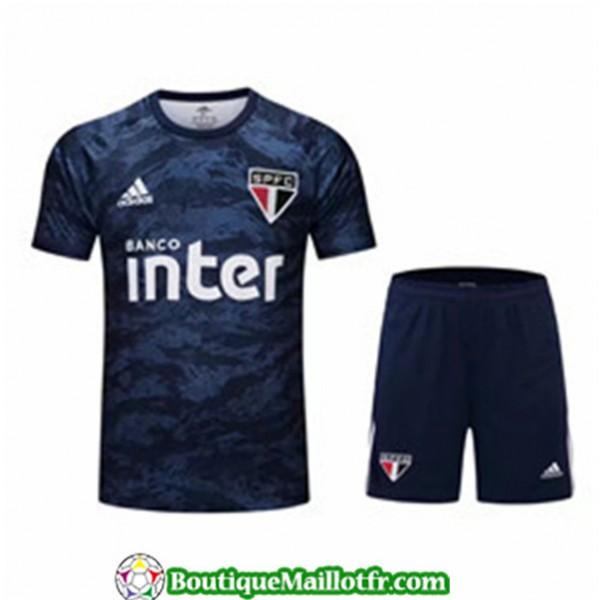 Maillot Gardien De But Sao Paulo 2019 2020 Bleu Ma...