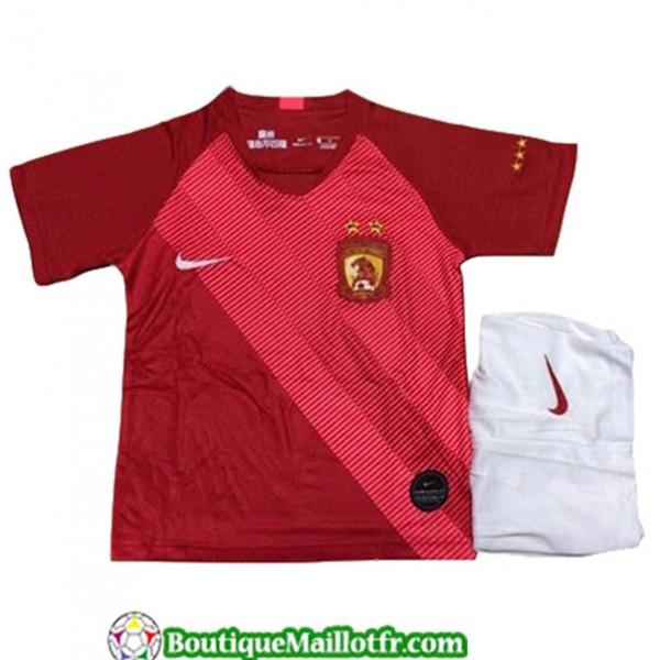 Maillot Guangzhou Evergrande Enfant 2019 2020 Domi...