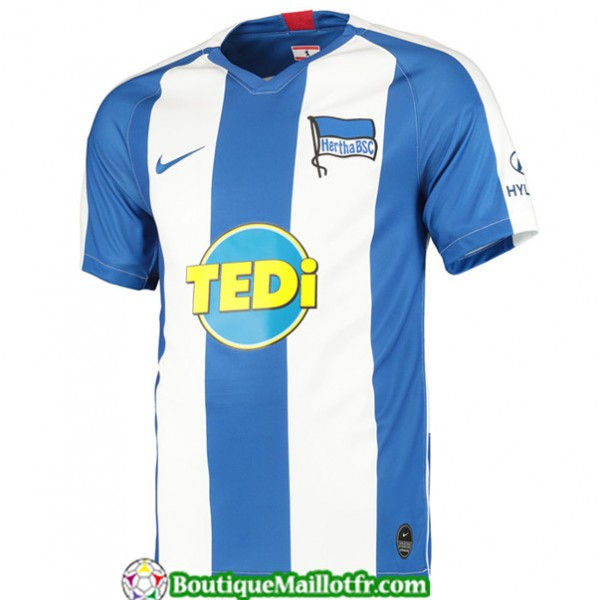 Maillot Hertha Bsc 2019 2020 Domicile