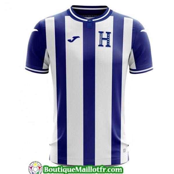 Maillot Honduras 2019 2020 Exterieur Bleu/blanc