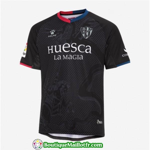 Maillot Huesca 2019 2020 Third Noir