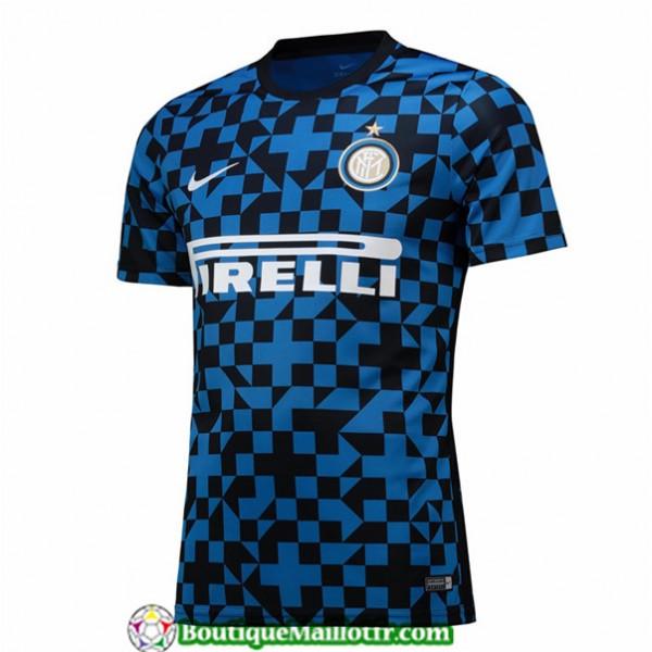 Maillot Inter Milan 2019 2020 Pre Match Bleu