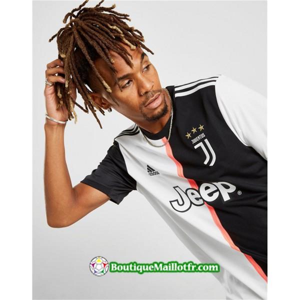 Maillot Juventus 2019 2020 Domicile Blanc Noir
