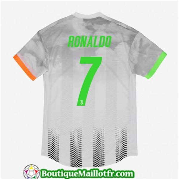 Maillot Juventus 7 Ronaldo 2019 2020 Quatrième