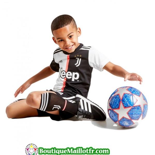Maillot Juventus Enfant 2019 2020 Domicile Blanc Noir
