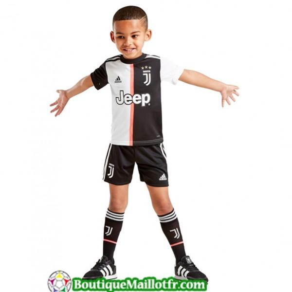 Maillot Juventus Enfant 2019 2020 Domicile Blanc N...