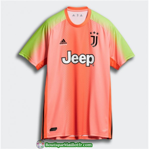 Maillot Juventus Palace Quatrieme Gardien De But Orange 2019 2020