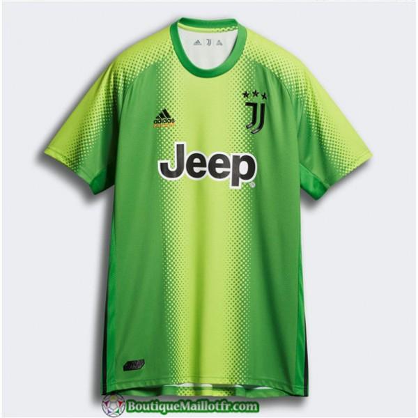 Maillot Juventus Palace Quatrieme Gardien De But Vert 2019 2020