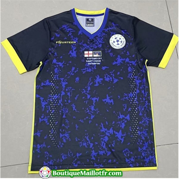 Maillot Kosovo Bleu 2019