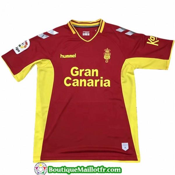 Maillot Las Palmas 2019 2020 Exterieur Rouge/jaune