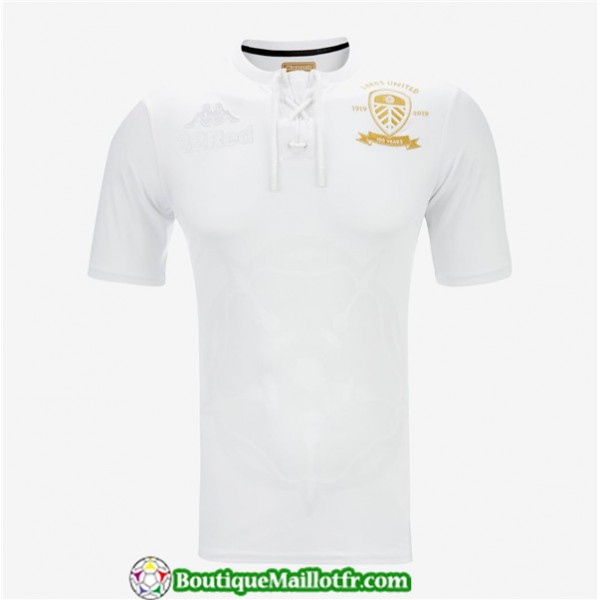 Maillot Leeds United 2019 2020 100th Édition Anni...