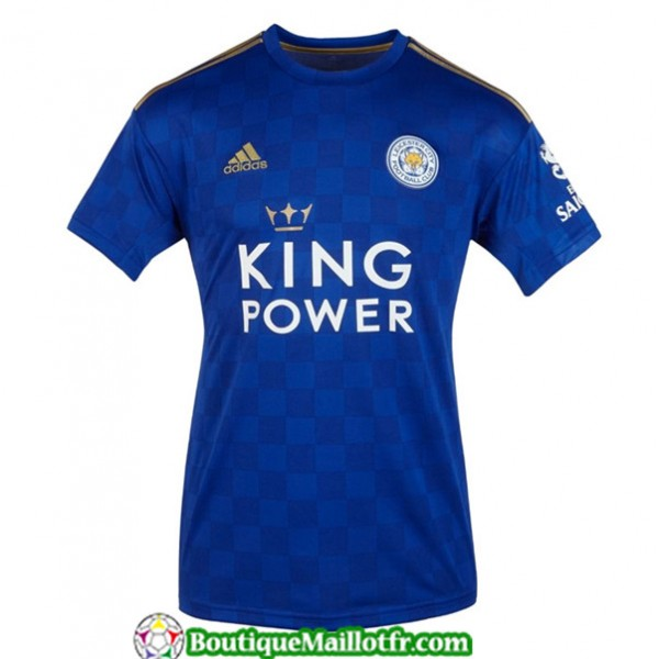 Maillot Leicester City 2019 2020 Domicile