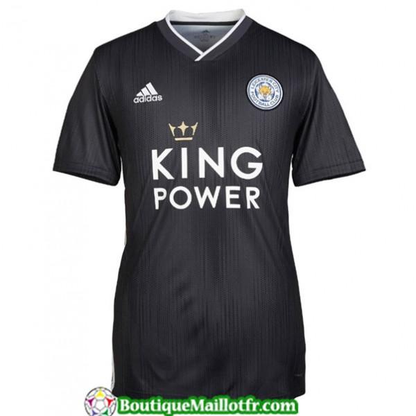 Maillot Leicester City 2019 2020 Exterieur Noir