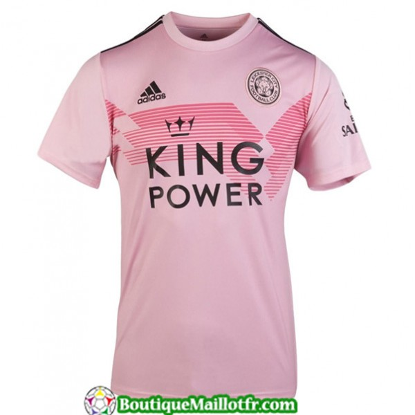 Maillot Leicester City 2019 2020 Exterieur Rose