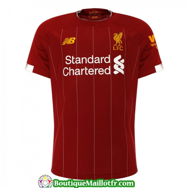 Maillot Liverpool 2019 2020 Domicile Rouge