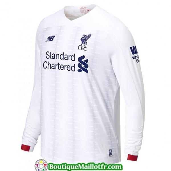 Maillot Liverpool 2019 2020 Exterieur Manche Longu...