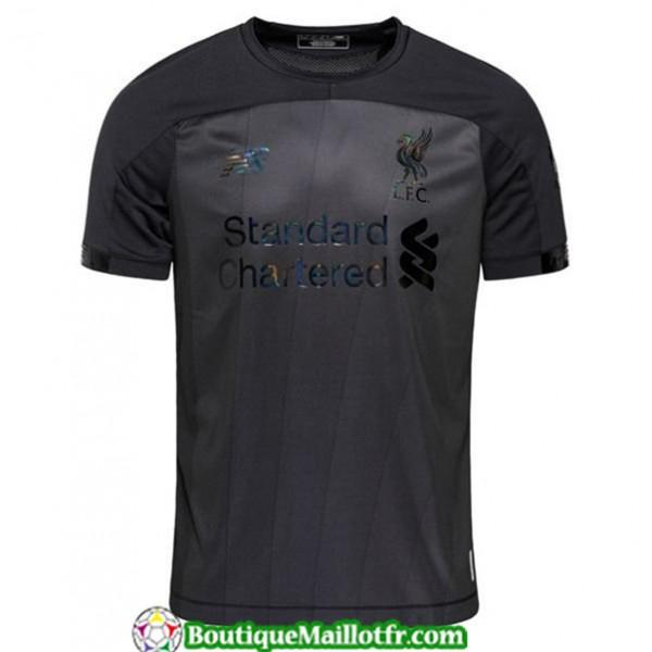 Maillot Liverpool 2019 2020 Noir/gris