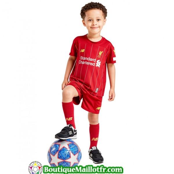 Maillot Liverpool Enfant 2019 2020 Domicile Rouge