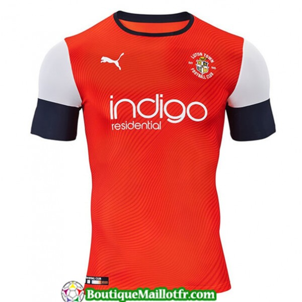 Maillot Luton 2019 2020 Domicile Orange