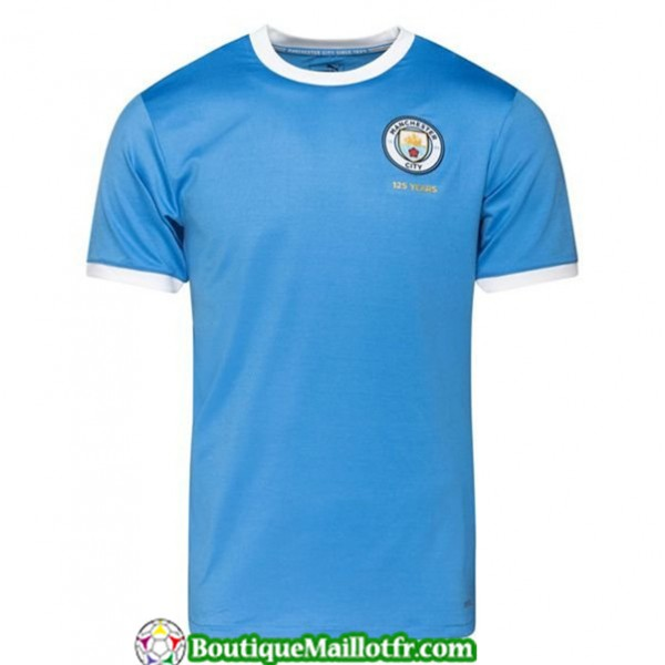 Maillot Manchester City 125th Anniversary Bleu