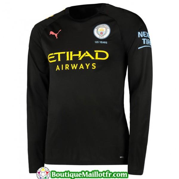 Maillot Manchester City 2019 2020 Exterieur Manche...