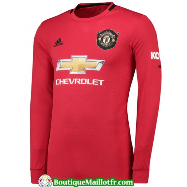Maillot Manchester United 2019 2020 Domicile Manch...