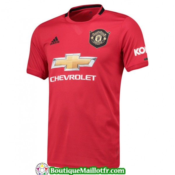 Maillot Manchester United 2019 2020 Domicile Rouge