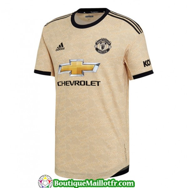 Maillot Manchester United 2019 2020 Exterieur