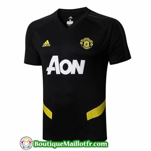 Maillot Manchester United 2019 2020 Pre Match Noir