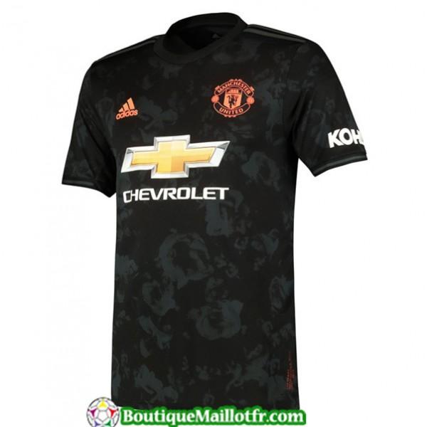 Maillot Manchester United 2019 2020 Third Noir