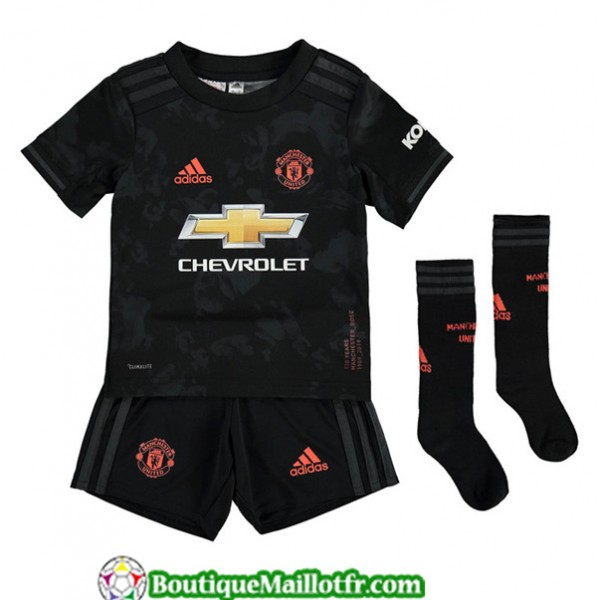 Maillot Manchester United Enfant 2019 2020 Third N...