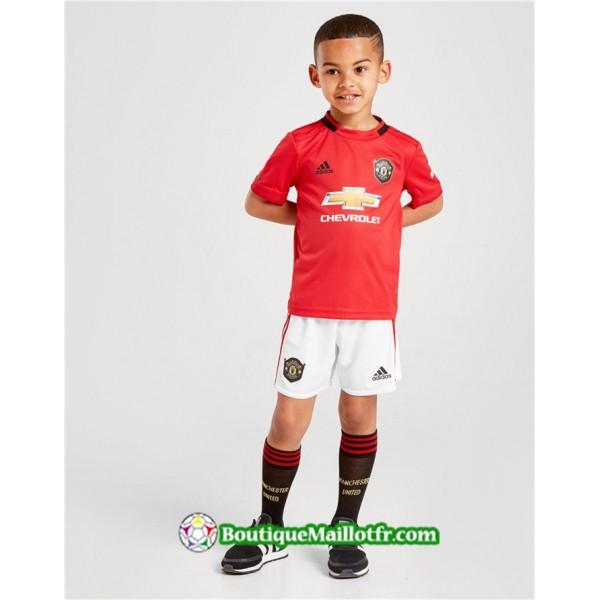 Maillot Manchester United Enfant 2019 2020 Domicil...