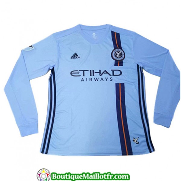 Maillot New York City 2019 2020 Domicile Manche Lo...