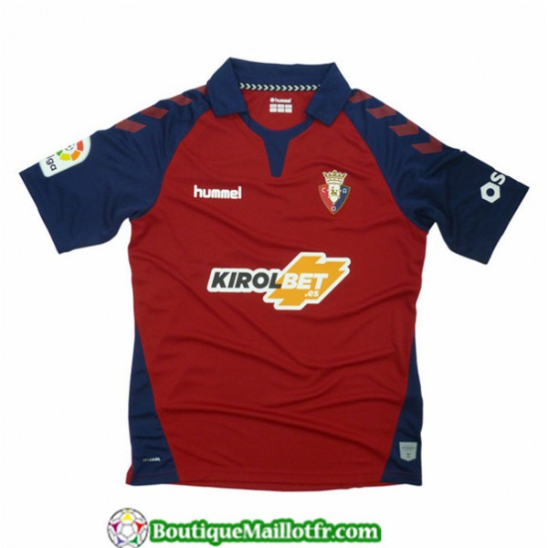 Maillot Osasuna 2019 2020 Domicile Rouge