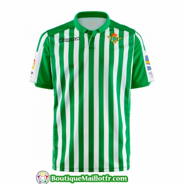 Maillot Real Betis 2019 2020 Domicile Vert