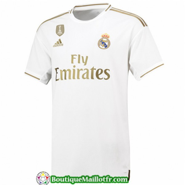 Maillot Real Madrid 2019 2020 Domicile Blanc