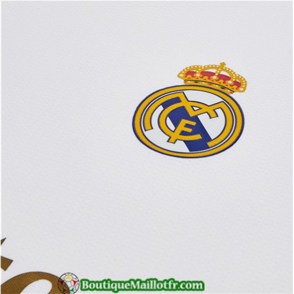 Maillot Real Madrid 2019 2020 Domicile Manche Longue