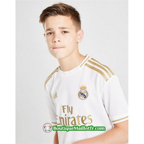 Maillot Real Madrid Enfant 2019 2020 Domicile