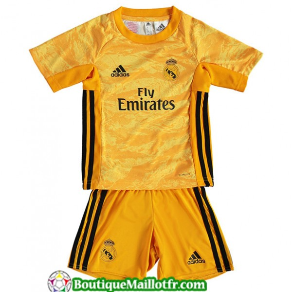 Maillot Real Madrid Enfant 2019 2020 Jaune