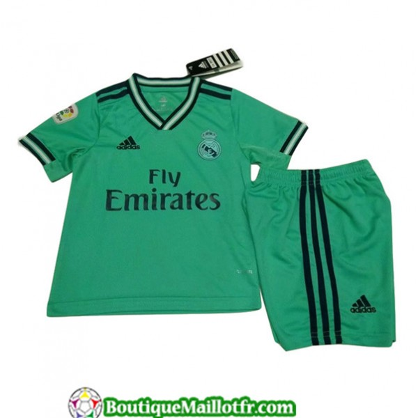 Maillot Real Madrid Enfant 2019 2020 Third Vert