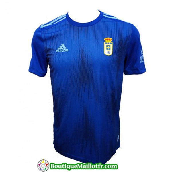 Maillot Real Oviedo 2019 2020 Domicile