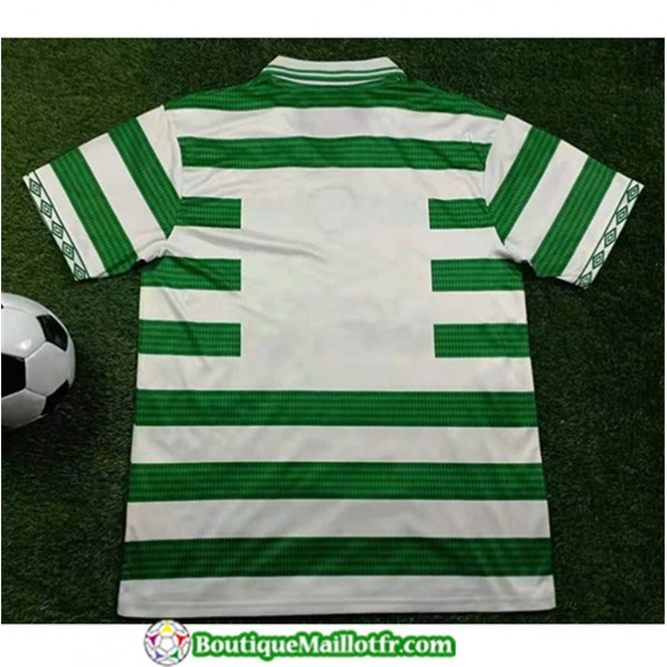 Maillot Retro Celtic 1997 99 Domicile