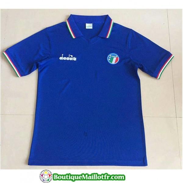 Maillot Retro Italy 1986 Domicile 2xl