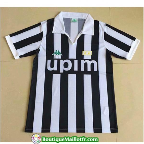 Maillot Retro Juventus 1991 Domicile