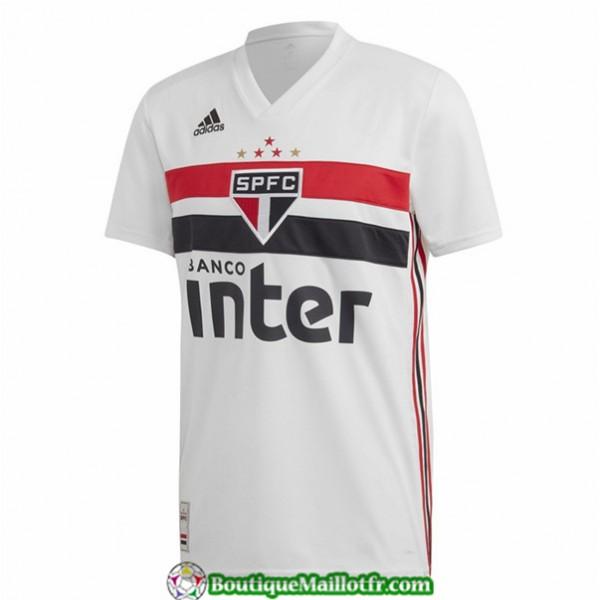 Maillot Sao Paulo 2019 2020 Domicile Blanc