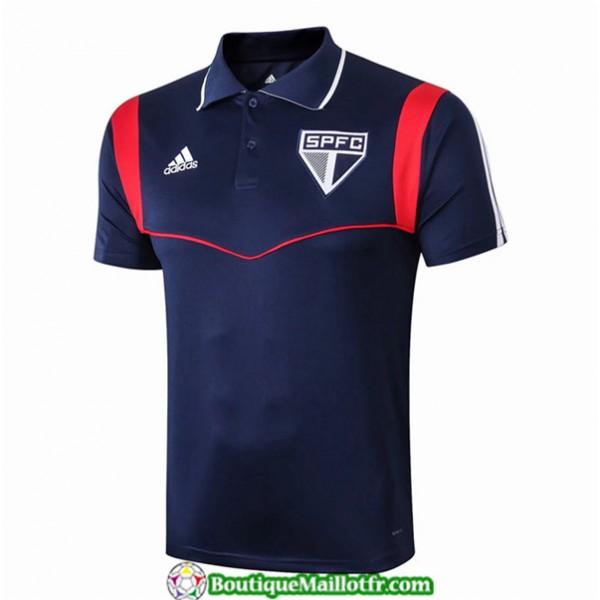 Maillot Sao Paulo 2019 2020 Pre Match Bleu