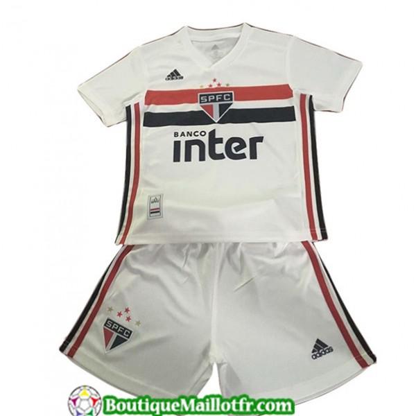 Maillot Sao Paulo Enfant 2019 2020 Domicile Blanc